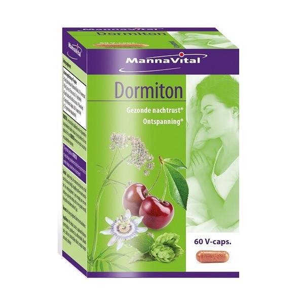 Dormiton 60 gélules végétales - Mannavital