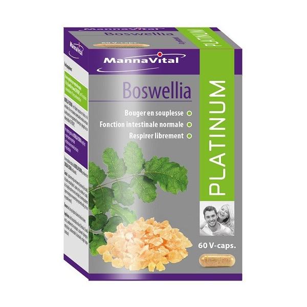 Boswellia 60 gélules végétales - Mannavital